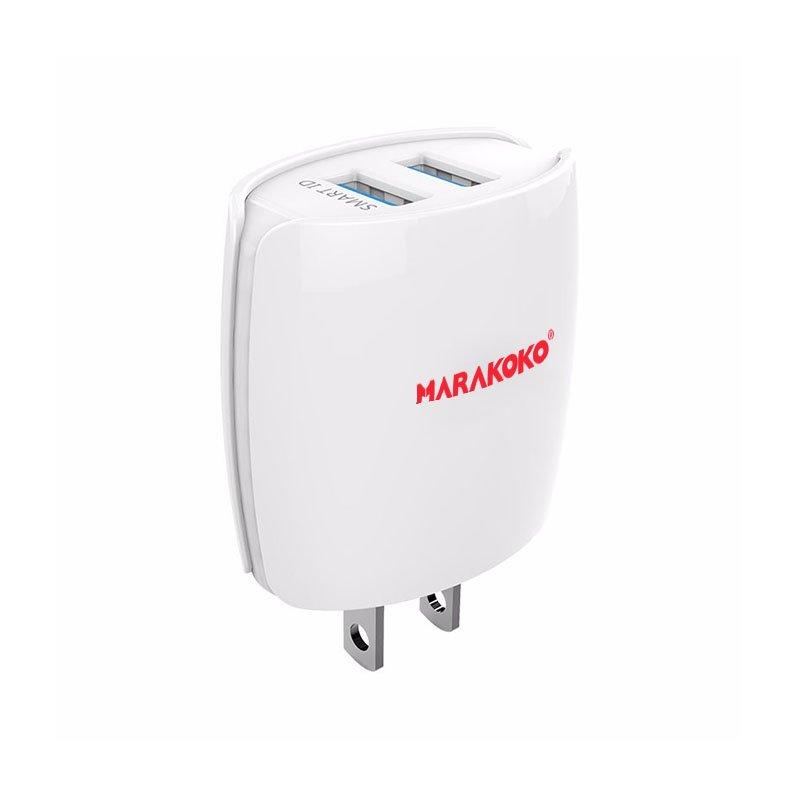 Marakoko MA2 2-Port USB Wall Charger U.S Plug