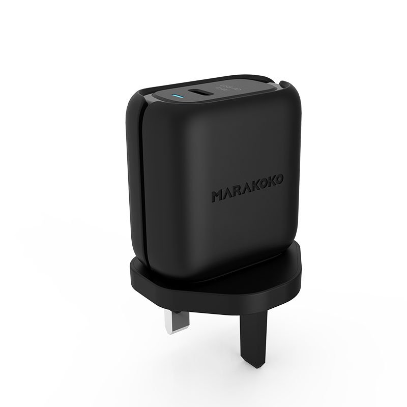 Marakoko MA35 USB-C PD3.0 Fast Wall Charger 24W Output U.K Plug