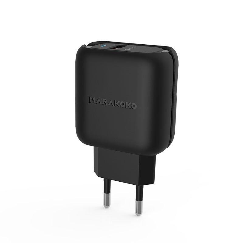 Marakoko MA36 QC3.0 Fast Wall Charger 24W Output EU Plug